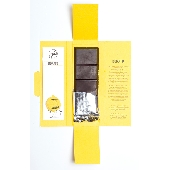 Organic Modica chocolate with Interdonato lemon zest