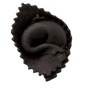 Agnolotti nero di sepia con rucola e gamberi - Pastai Pasta Fresca le Tradizionali