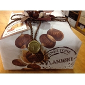 Panettone with marrons glac�s hand-wrapped - Pasticceria Flamigni