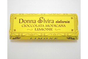 Lemon Modican Chocolate Bar - Donna Elvira Dolceria