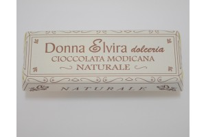 Natural Modican Chocolate  - Donna Elvira Dolceria