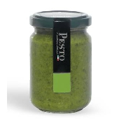 Fresh Pesto alla Genovese without garlic aged  Parmesan cheese 25 months aged