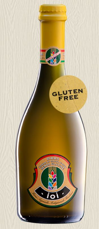 Birra IOI Gluten free beer from malted barley - Birrificio Gjulia